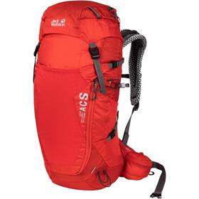 Jack Wolfskin Crosstrail 32 LT Backpack, fiery red
